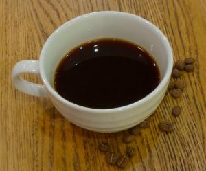 en kopp kaffe